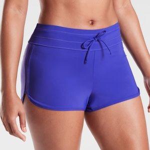 Athleta drawstring surge swim shorts bottoms